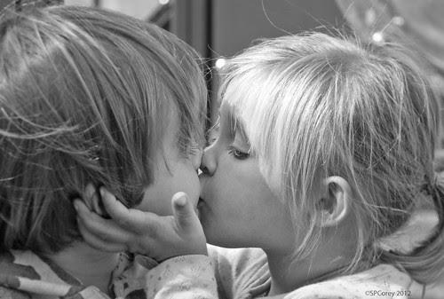 Girl Attacks Boy on Playground