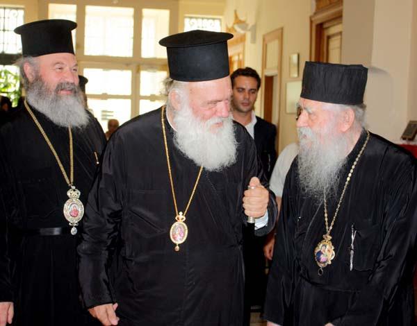 Επίσκεψη του Αρχιεπισκόπου στην Ι. Μητρόπολη Ηλείας