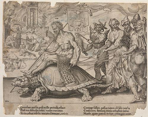 Triumph Hiobs - Volkertsz + Heemskerck 1564