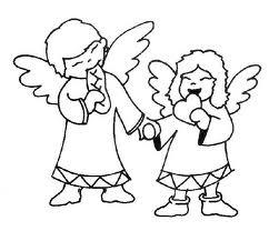 BELLISSIMI DISEGNI DA STAMPARE DI ANGELI