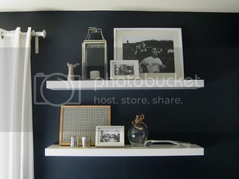 kristen f davis designs painted ikea shelves. Black Bedroom Furniture Sets. Home Design Ideas