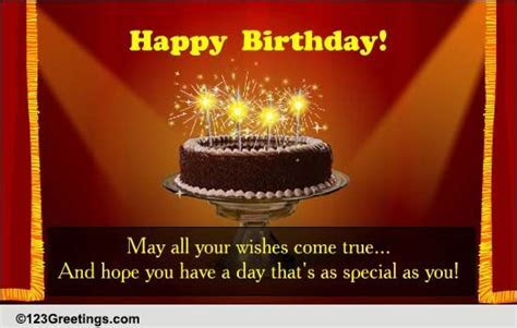Birthday Star! Free Birthday Wishes eCards, Greeting Cards