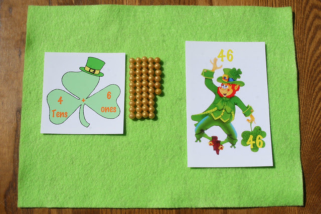 St. Patrick's Day Place Value Activity