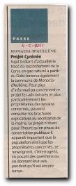 Le projet Galsi Cyrénée passe par Monacia d'Aullène