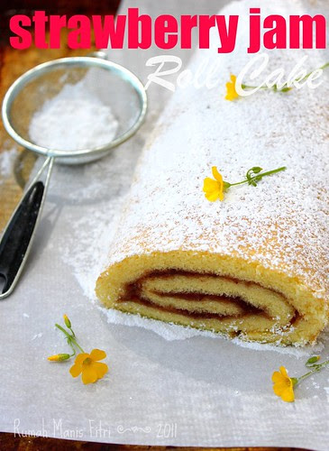 roll cake by Fitri D. // Rumah Manis