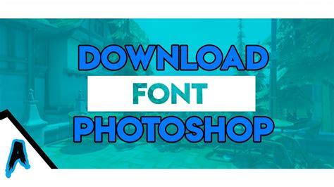 font photoshop keren tutorial  youtube