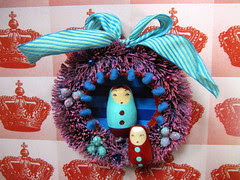 Matryoshka Wreath, Nellie's Fairytale! 3