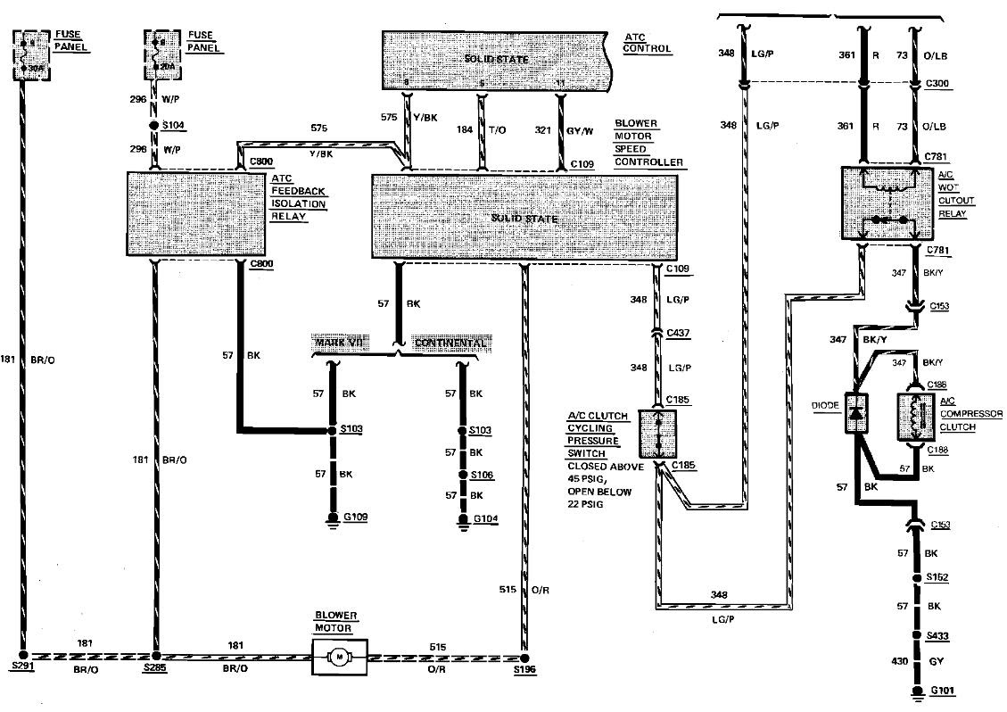 Wiring Diagram For Etac System Lincolns Online Message Forum