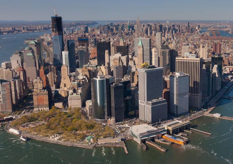 Fotos marcantes mostram a cidade de Nova Iorque ontem e hoje 18