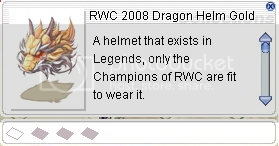 rwc 2008 dragon helm gold 1