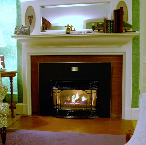 Fireplace in the Callender Room