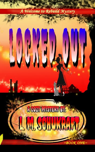 Book Cover for  Locked Out, from the Welcome to Rebuild series, by L.M. Schukraft