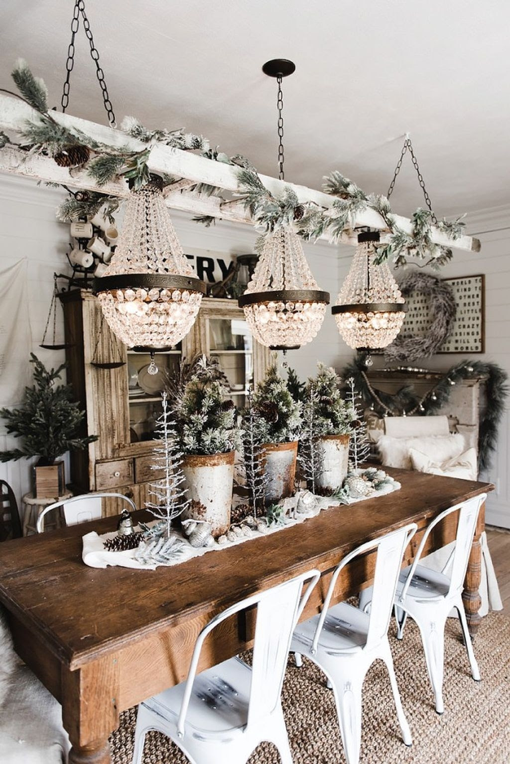 Elegant  Rustic Christmas Decoration  Ideas  That Stands Out