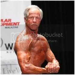 Older bodybuilder