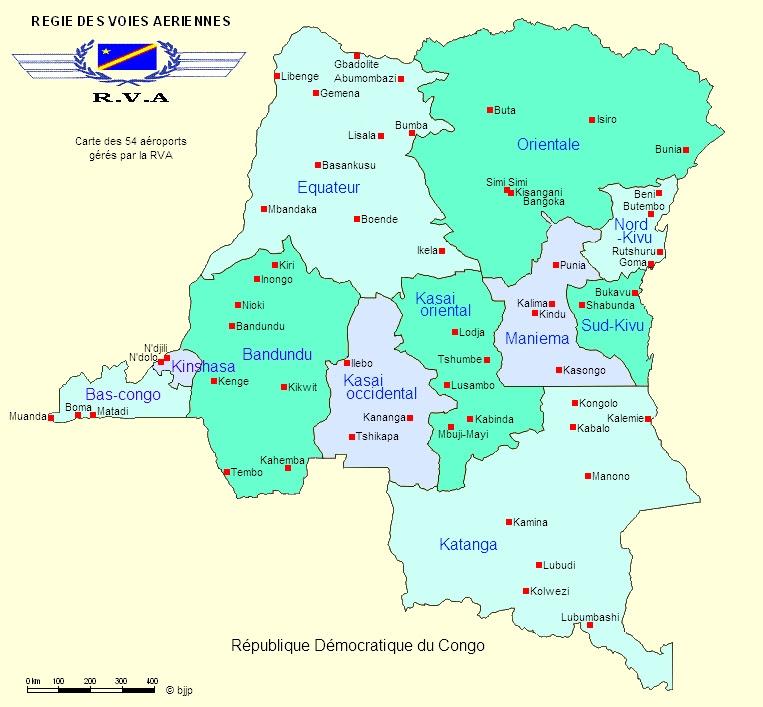 Congolese aerodromes