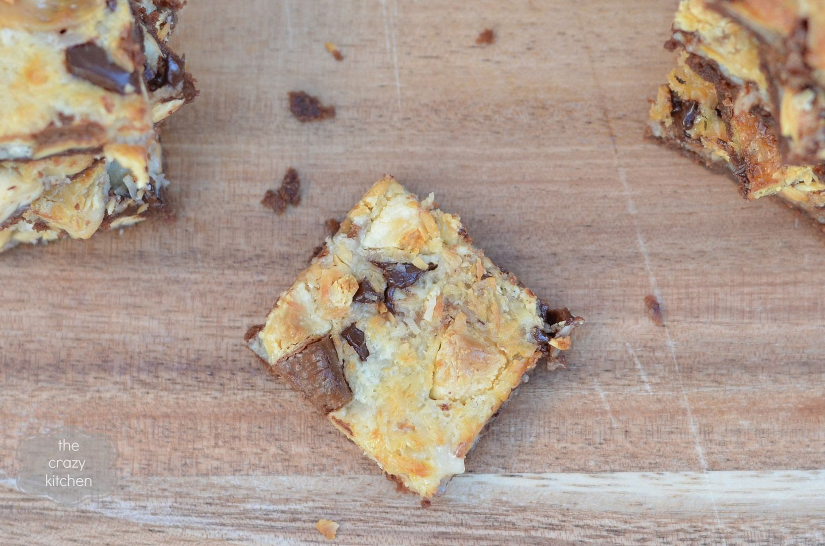 Chocolate Peanut Magic Cookie Bars