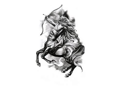 zodiac sagittarius tattoo designs