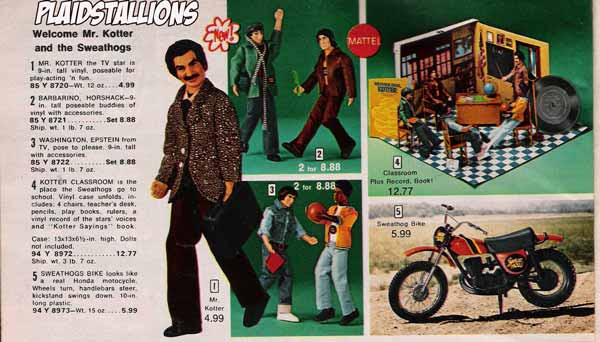 mattel welcome back kotter