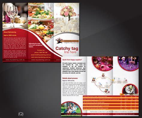 Elegant, Modern, Event Planning Brochure Design for a