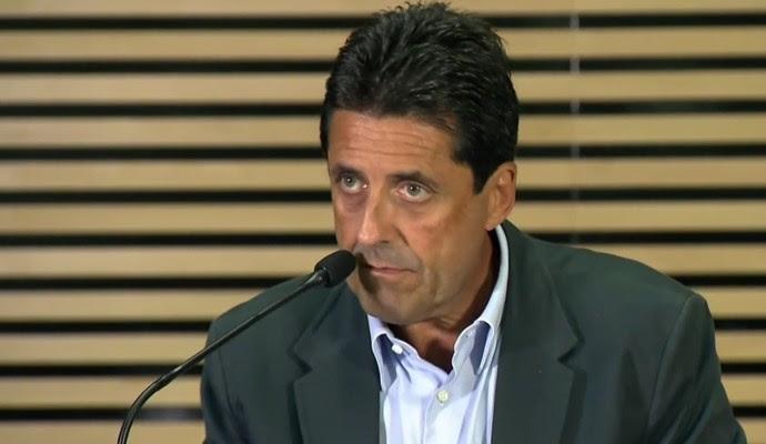 Antônio Olim, presidente TJD São Paulo (Foto: Reprodução SporTV)