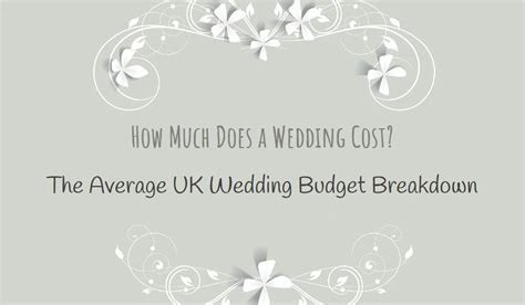 How Much Does a Wedding Cost? The Average UK Wedding