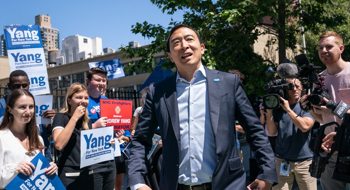 Andrew Yang to Launch a Third Party - Next Gen News