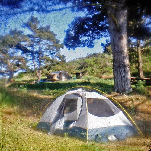 tent aka hotel room