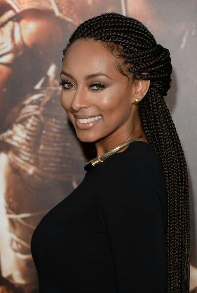 Braided Beauty Keri Hilson • Box Braids • Protective Styles • Extensions • Braids