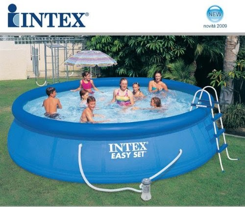intex pool komplett set intex easy pool set mit filterpumpe 457 x 107 schwimmbad abdeckplane. Black Bedroom Furniture Sets. Home Design Ideas