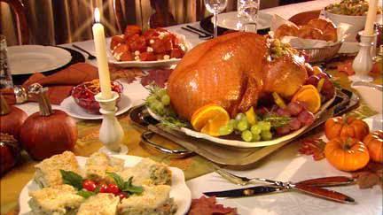 Thanksgiving Dinner Italian Style