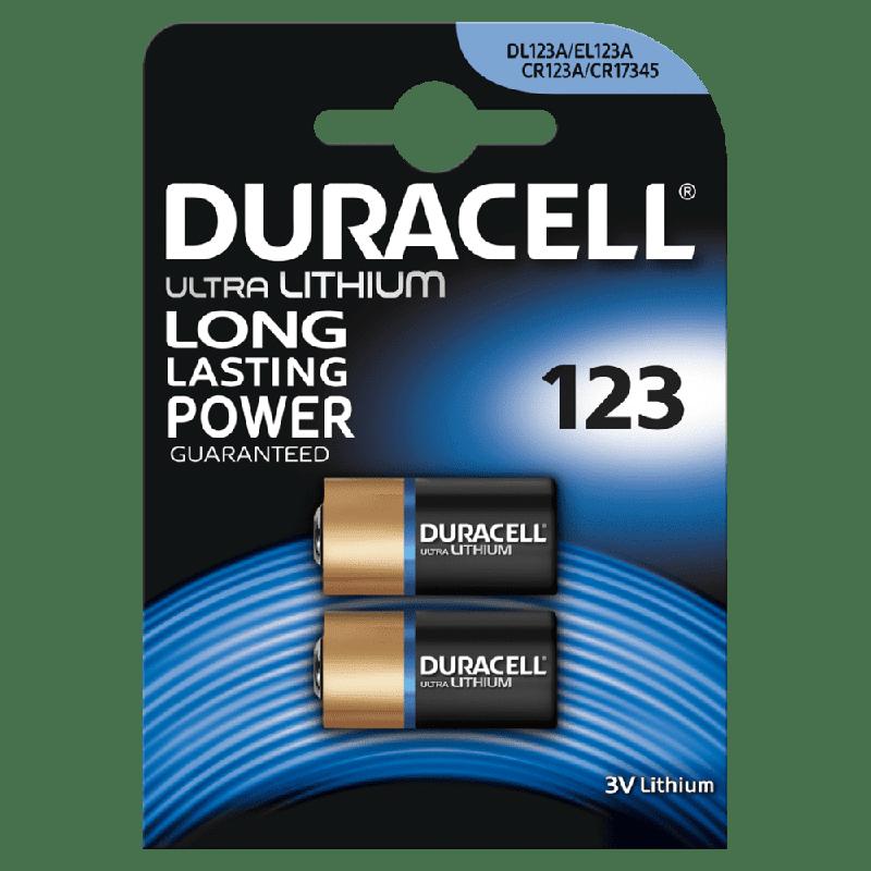 123 Duracell Ultra Lithium 2 Pack Dl123 B2 360 Altea