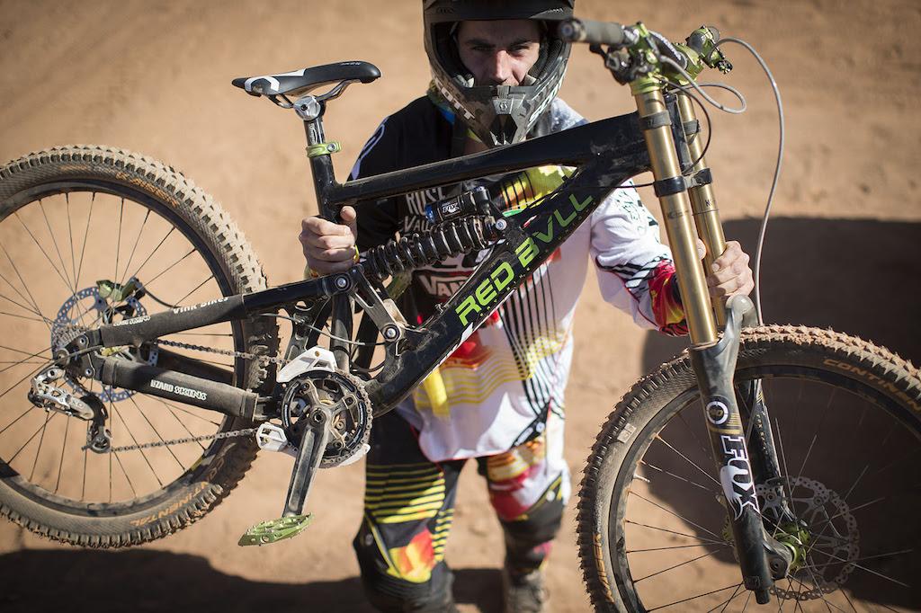 Nico Vink at Redbull Rampage 2012