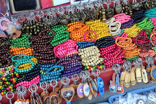 Prambanan Market - all these trinkets for just 1,000 rupiah each (like US$0.10)!!