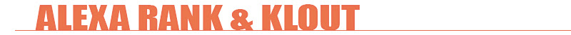 ALEXA AND KLOUT TITLE GRAPHIC