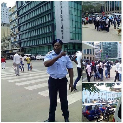 Jovens acusados de tentativa de golpe de Estado levados para cadeia fora de Luanda