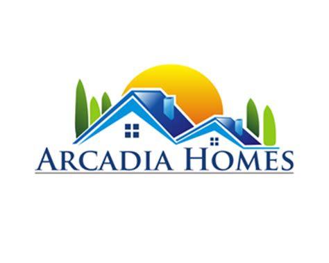 arcadia homes logo design contest logo designs  linda