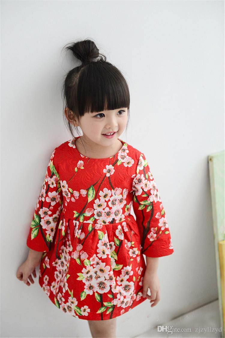 2017 designer kids clothes baby toddler dress girls