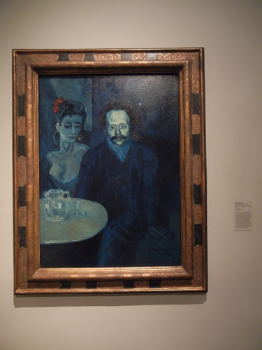 DSCN7925 _ Portrait of Sebastia Juñer Vidal, 1903, Pablo Picasso (1881-1973), LACMA
