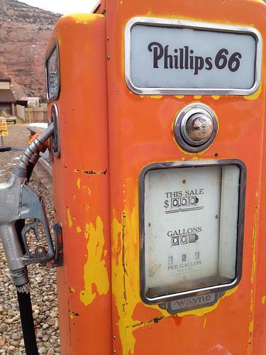 Ye Olde Gas Pump