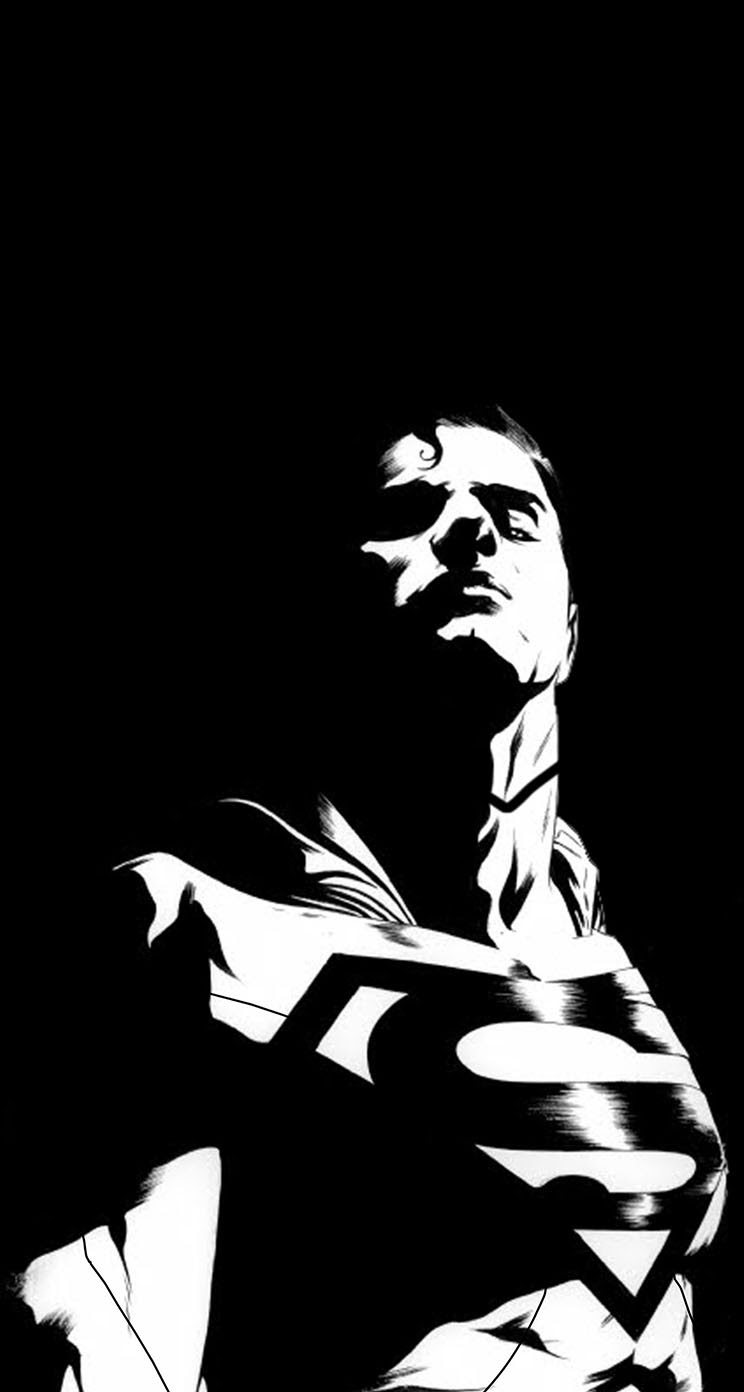 The Iphone Wallpapers Black Man Of Steel Background
