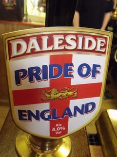 Daleside, Pride of England, England