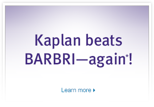 Kaplan Beats BARBRI
