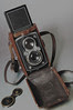 Rolleiflex Automat and leather case