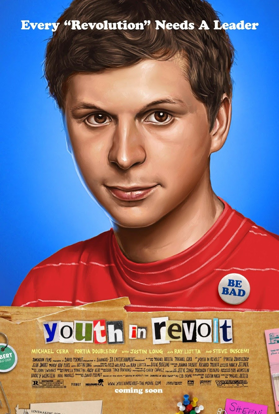 YOUTH IN REVOLT - teaser poster [click to enlarge]