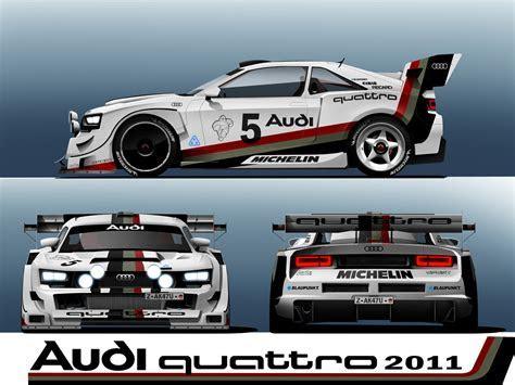 Artwork: Audi quattro Concept in Group B style ~ Audi Motorsport Blog