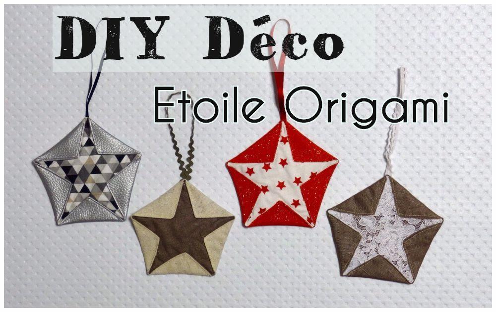 Tuto Etoile Origami Couture Et Diy Viny Diy Le Blog De