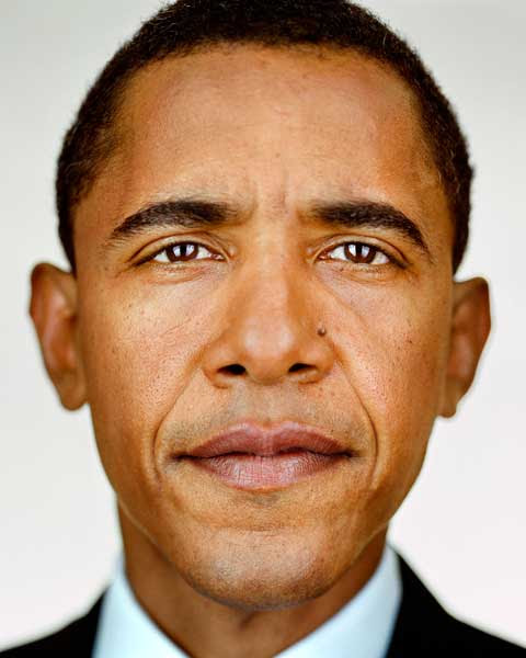 Barack Obama by Martin Schoeller