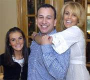 Dina Lohan and David Caplan of Star Magazine