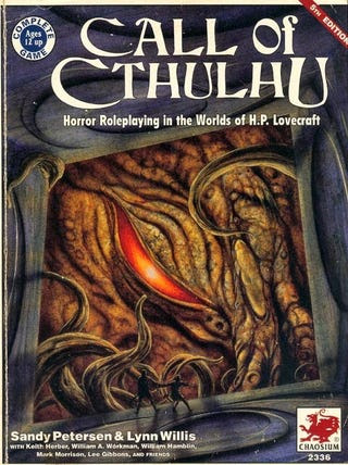 Call Of Cthulhu Was The First Role-Playing Game To Drive People Insane