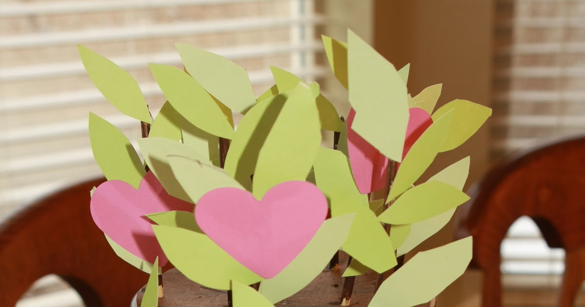 Valentine Bookmark Craft